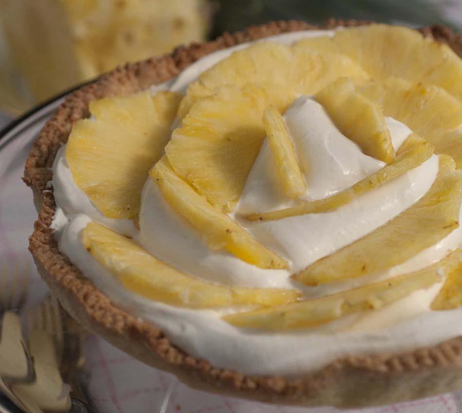 Crostata all'ananas