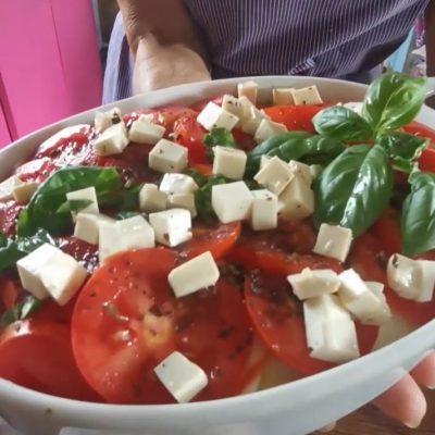 panzanella di tofu - Appuntamento con il gusto